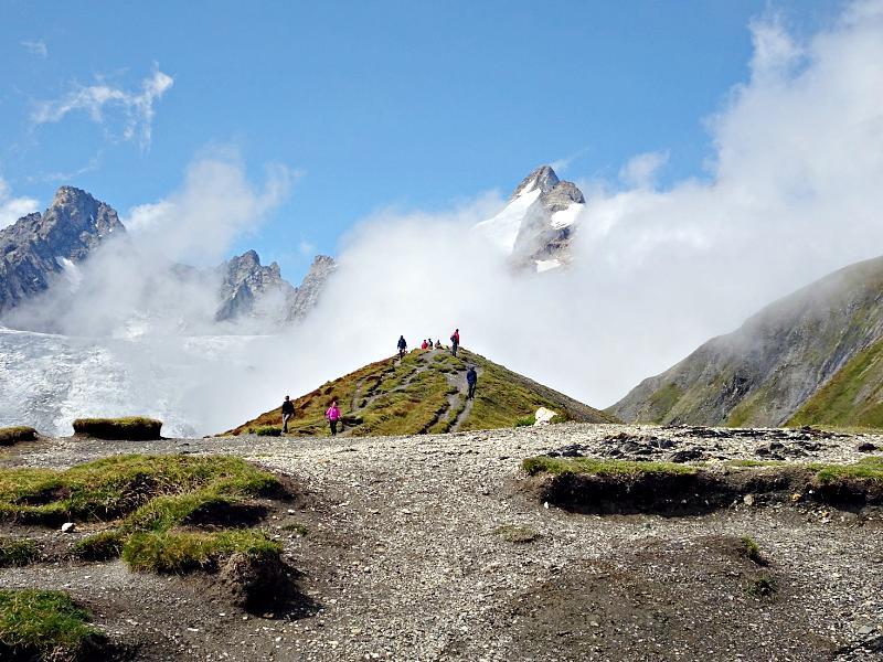 Tour Mont Blanc Dolent