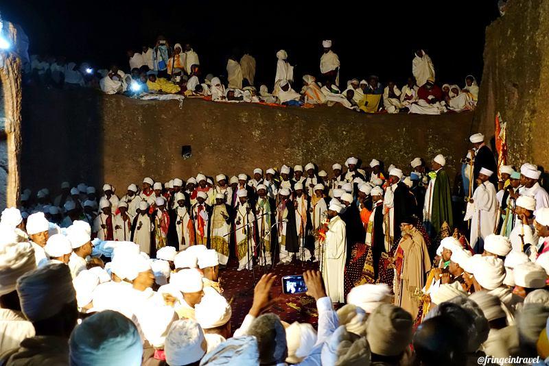 Natale Copto a Lalibela Etiopia