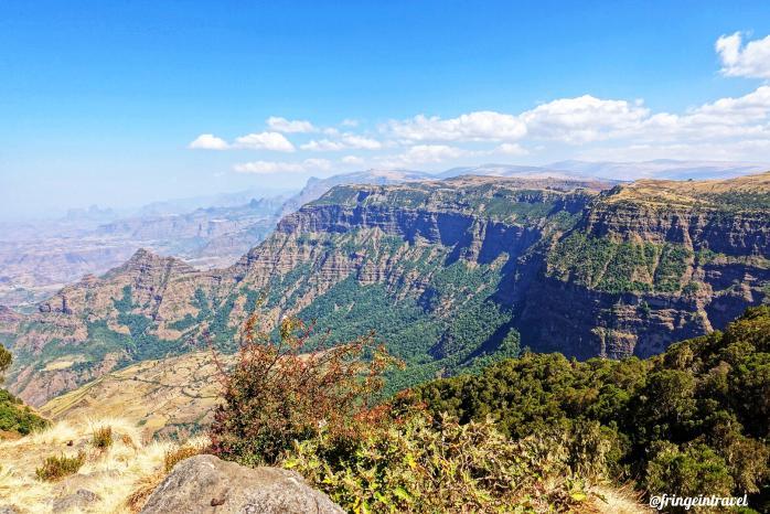 Trekking in etiopia