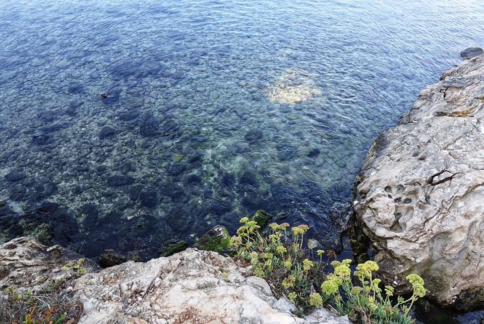 trekking in Salento il mare