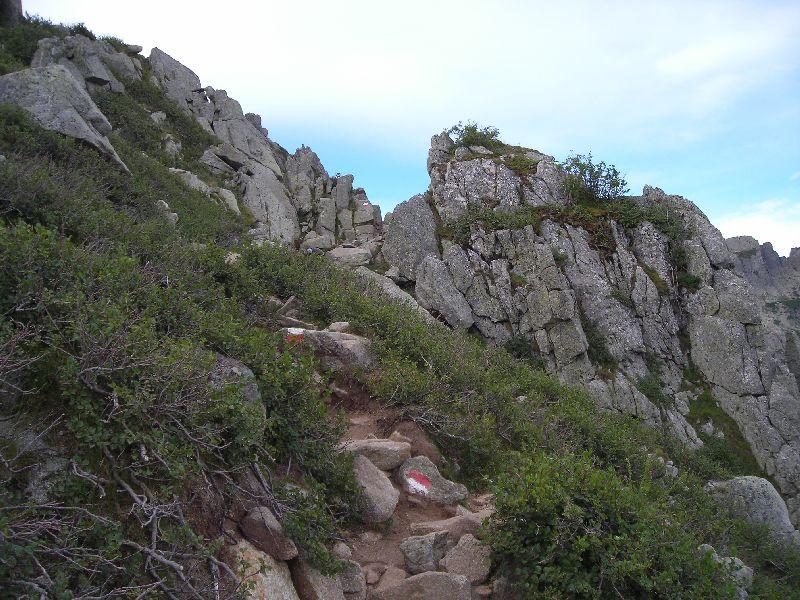 Gr20 18 sentiero