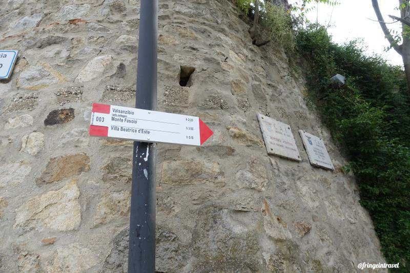 Sentiero Atestino escusione colli Euganei a piedi3