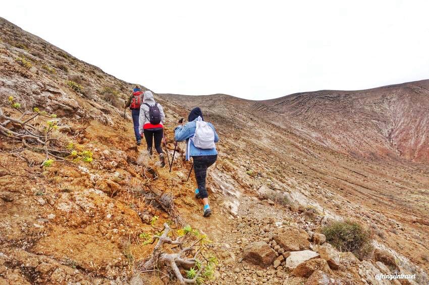 trekking a lazanrote caldera blanca4