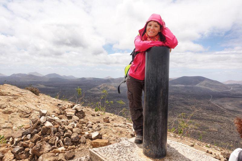 trekking a lazanrote caldera blanca