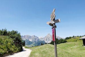 Rifugio Cherz da campolongo Dolomiti