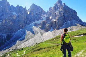 Trekking Pale di San Martino: escursione da Passo Rolle