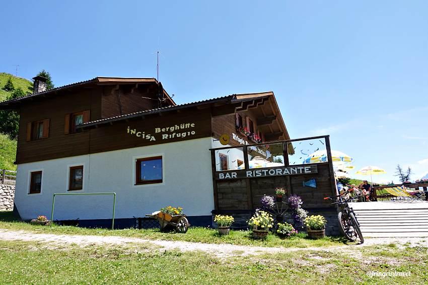 Rifugio Cherz da campolongo Dolomiti8