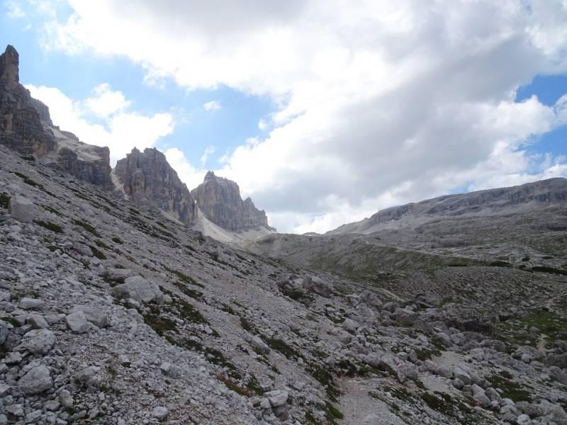 Alta via delle dolomiti 11 verso Lagazuoi