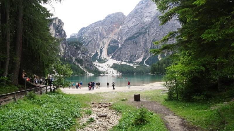 Alta via Dolomiti numero 1 01 Lago di Braies