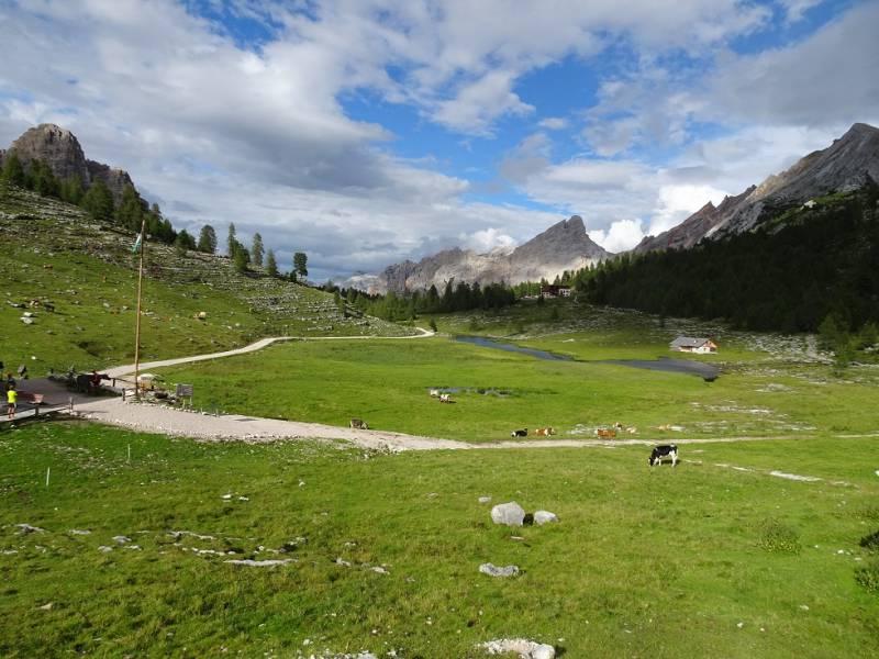 Alta via delle Dolomiti - 06 panorama dal Lavarella