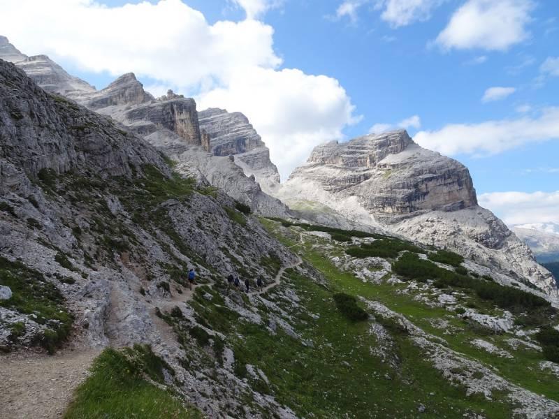 Alta via delle Dolomiti - 09 verso Forcella Lech