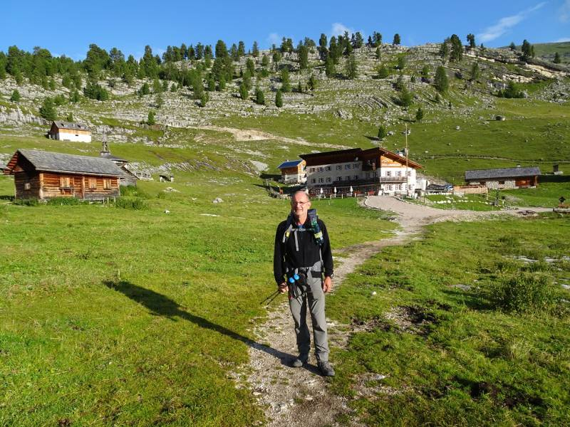 Alta via delle Dolomiti numero 1 - 07 io al Lavarella