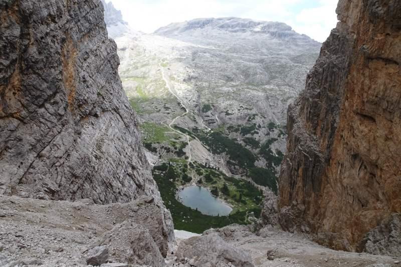 Alta via delle dolomiti 10 da Forcella Lech a Lech o Lagaccio
