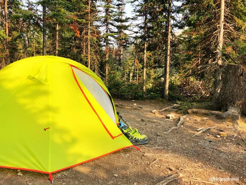 Viaggio in Canada costo low cost tenda
