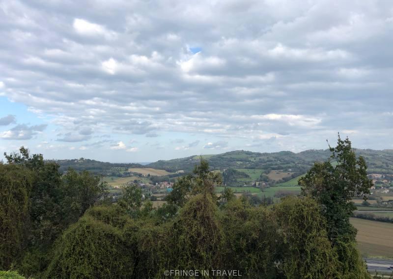 Sentiero di Paolo e Francesca degli innamorati Gradara5