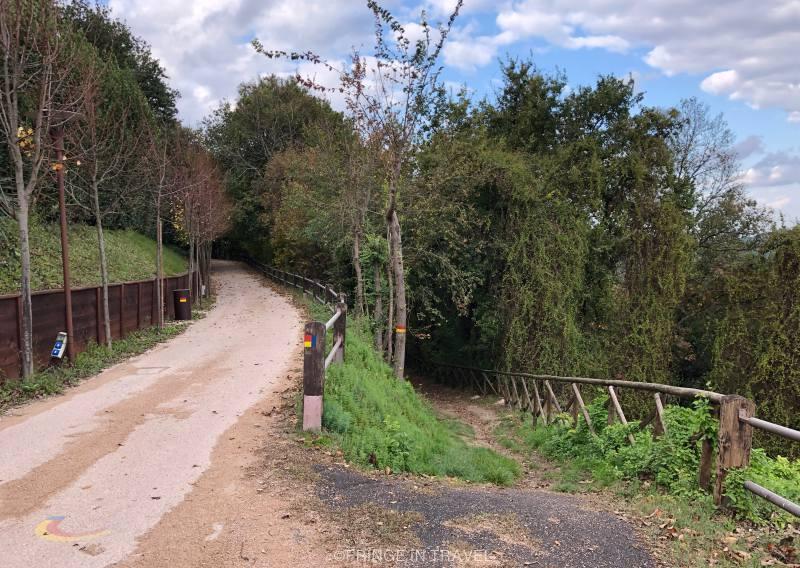 Sentiero di Paolo e Francesca degli innamorati Gradara2