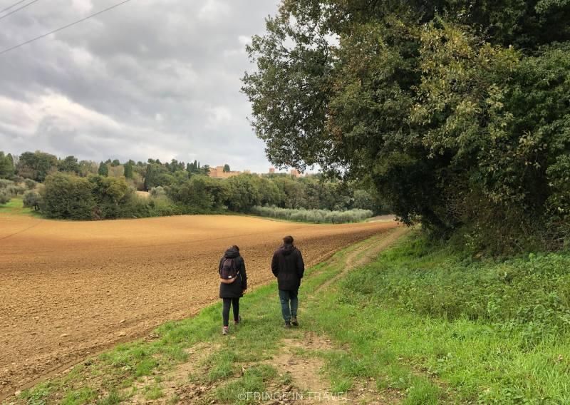 Sentiero di Paolo e Francesca panorama Gradara8