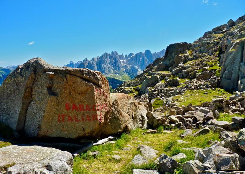 trekking grande guerra alta via mariotta