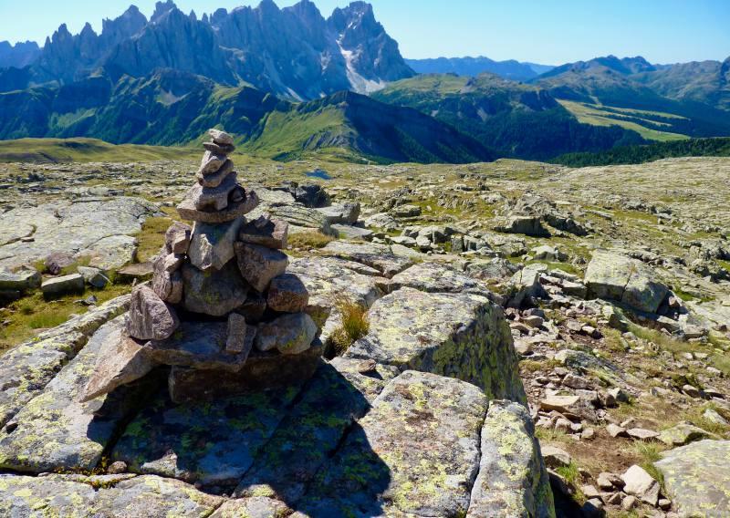 trekking grande guerra alta via della mariotta