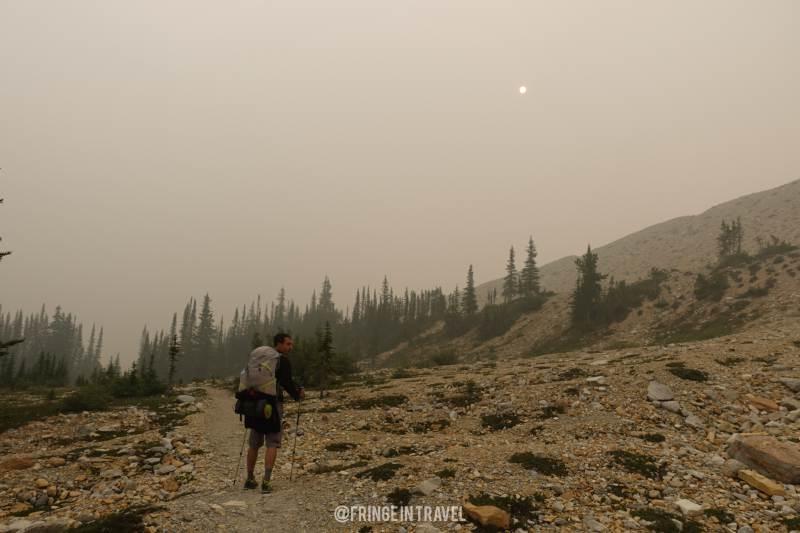 Iceline Trail paesaggio