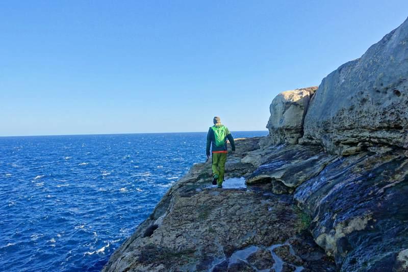 Trekking a Gozo paesaggi e scogliere15