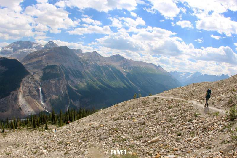 iceline trail panorama