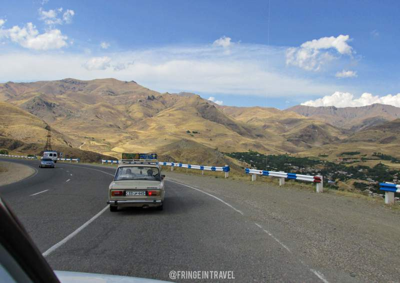 Armenia on the road visitare