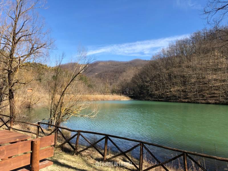 escursione al lago ponte