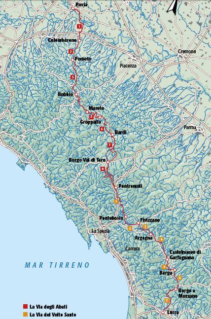 (Mappa Via degli Abati - Terre di Mezzo)