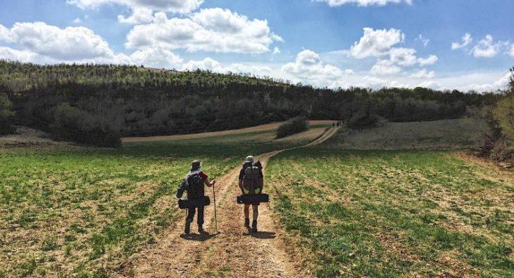 Cammino di San Benedetto prime tappe Umbria
