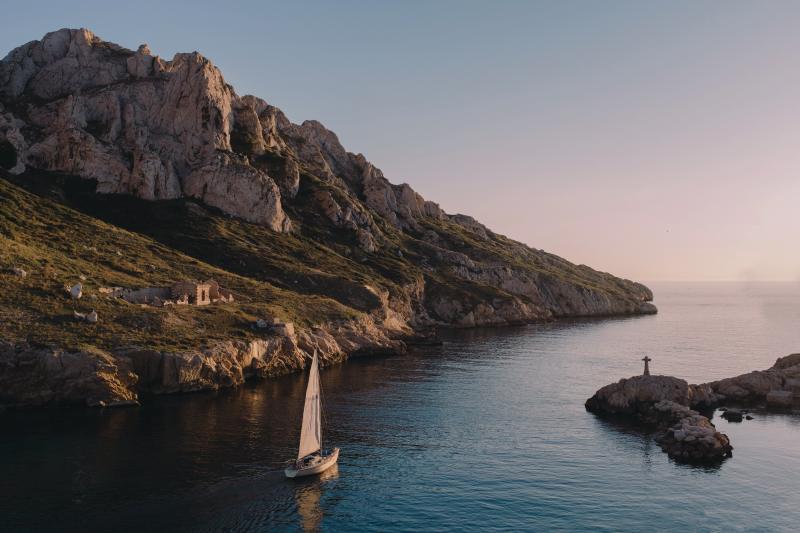Viaggi in barca paesaggio