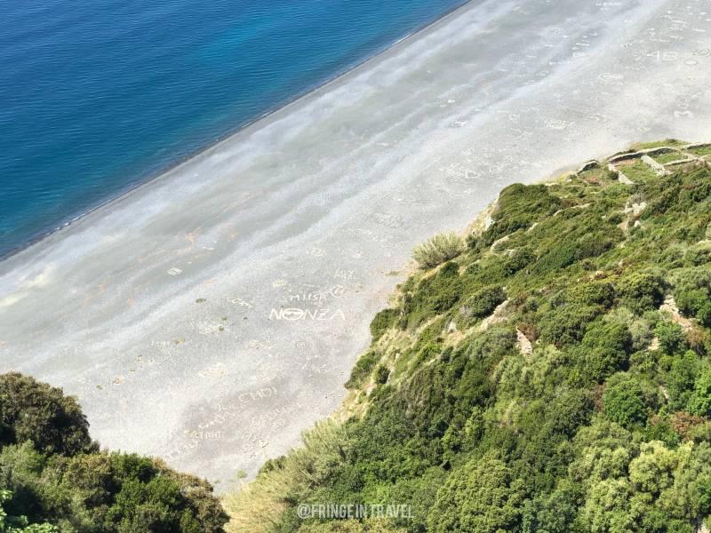 Corsica cosa vedere spiaggia di Nonza