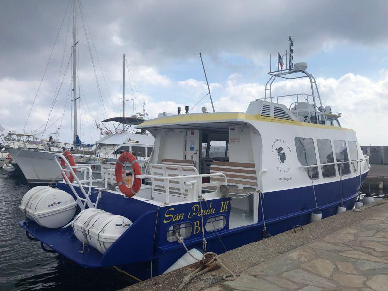 Barca sentiero dei Doganieri