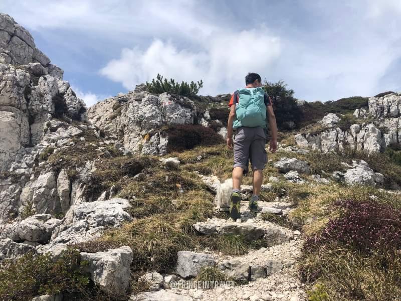 Monte Ortigara salita