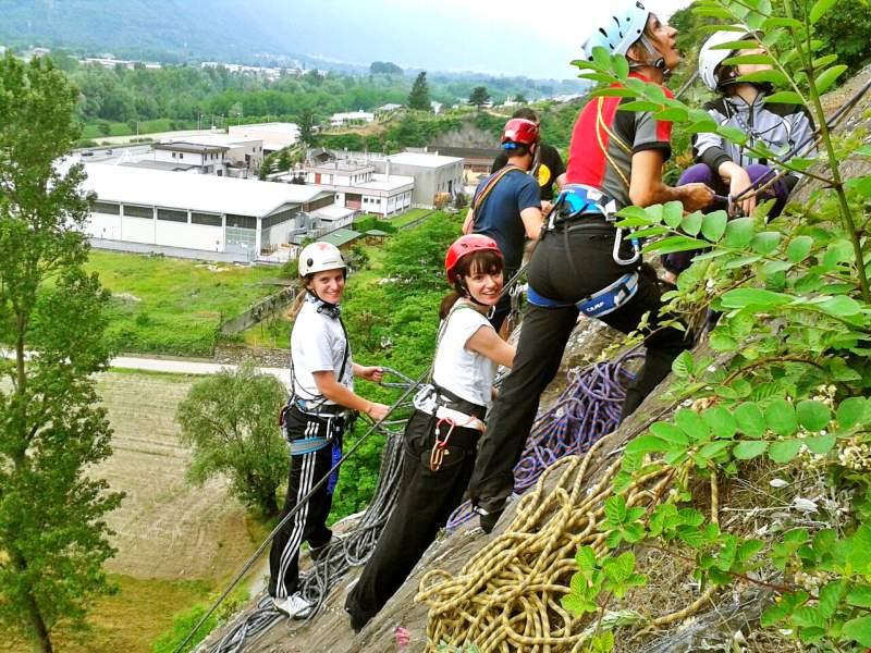 arrampicata materiali