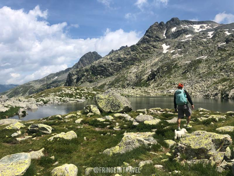 Lago Alpino sopra Passo Spluga