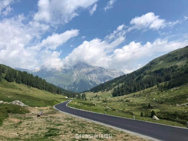 Strada Passo Spluga