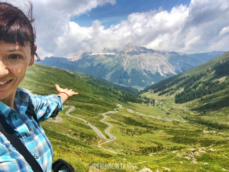 Passo Spluga - Panorama dall'alto