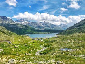 Passo Spluga vista di Monte Spluga
