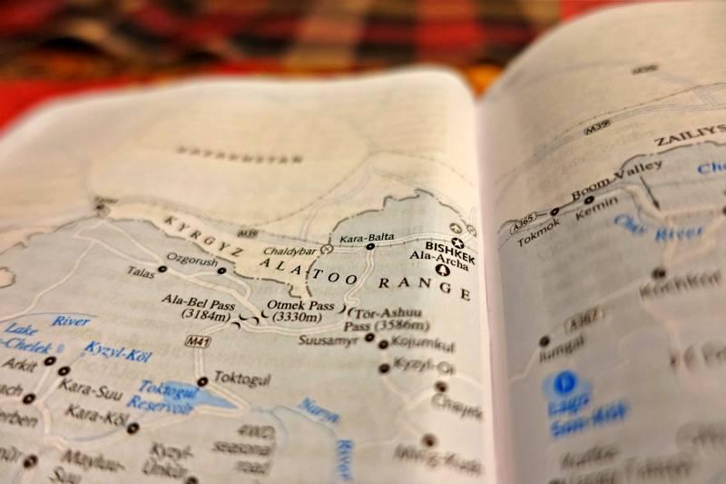 mappa Bishkek