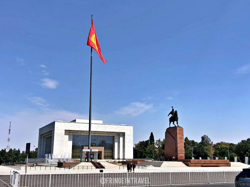 piazza Ala Too a Bishkek