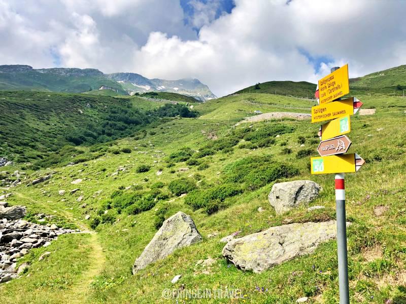 Via Spluga segnali