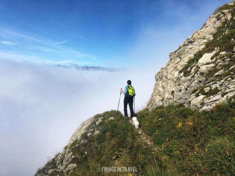 Monte Cadria paesaggio