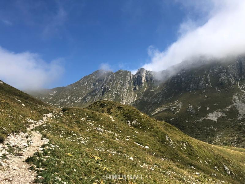 panorama trekking Monte Cadria