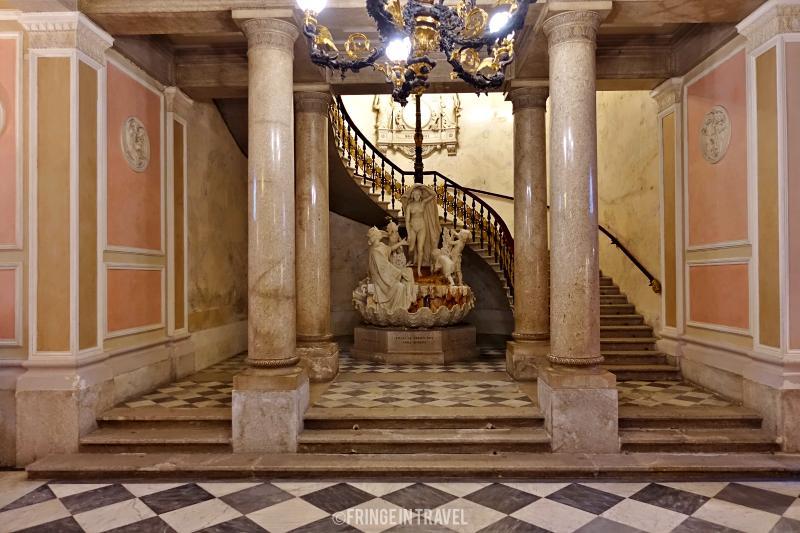 Museo Revoltella scalone