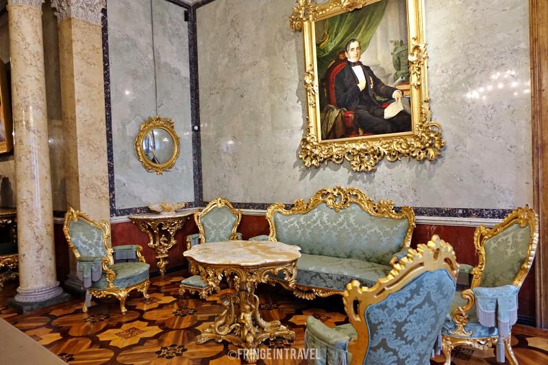 interno museo Revoltella