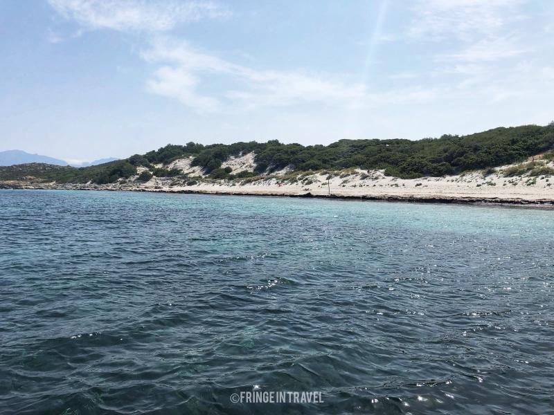 spiaggia saleccia panorama