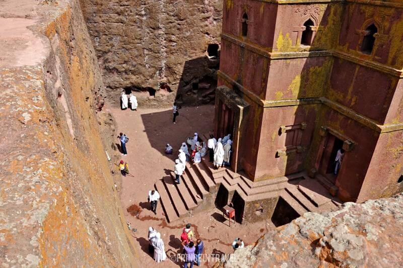 Bet Gyiorgis lalibela etiopia
