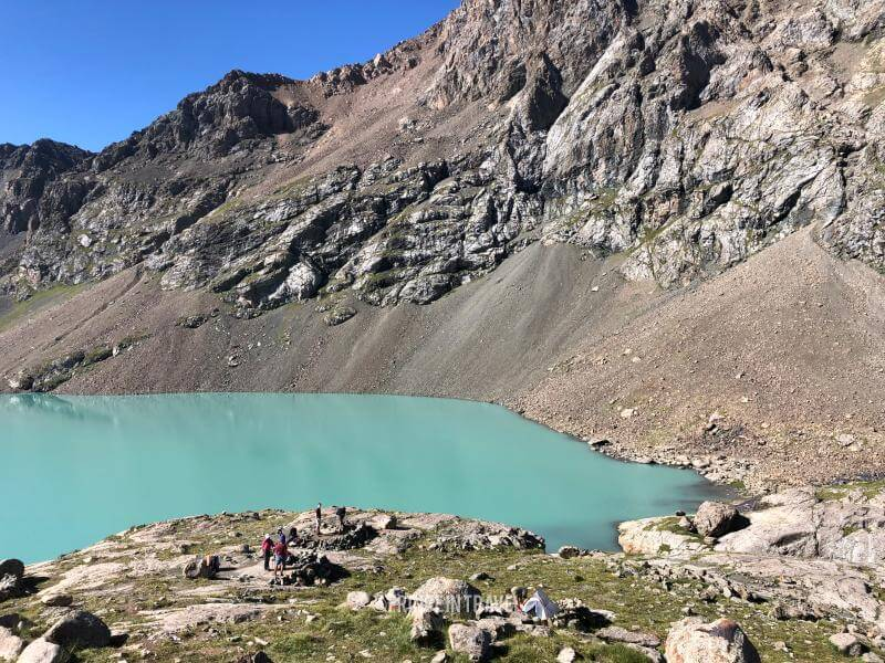 Lago Ala Kol - Kirghizistan