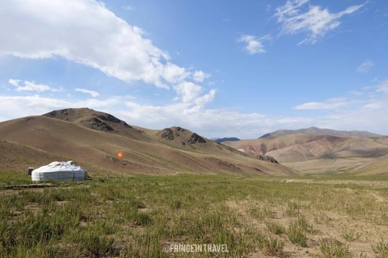Yurta in Kirghizistan